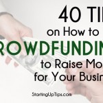 how to raise money to start up a business